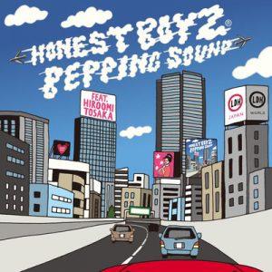 HONEST BOYZ(R)「BEPPING SOUND feat. HIROOMI TOSAKA」ジャケ写