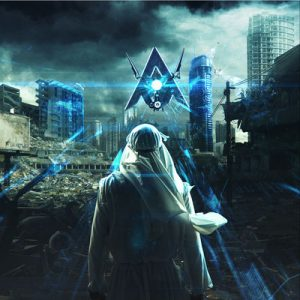 Alan Walker「Darkside(feat. Au/Ra and Tomine Harket)」ジャケ写
